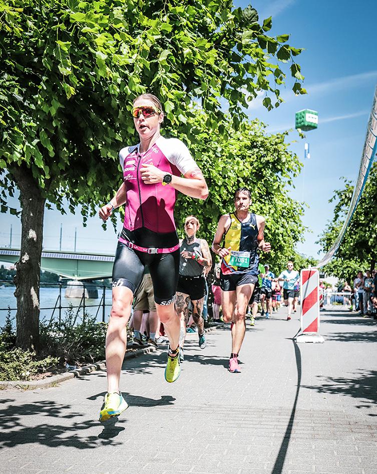 Bonn-Triathlon 2019, Platz 3