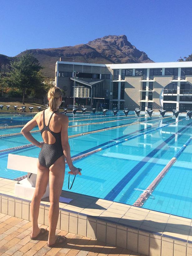 Verena Walter – Wettkampfvorbereitung In Stellenbosch