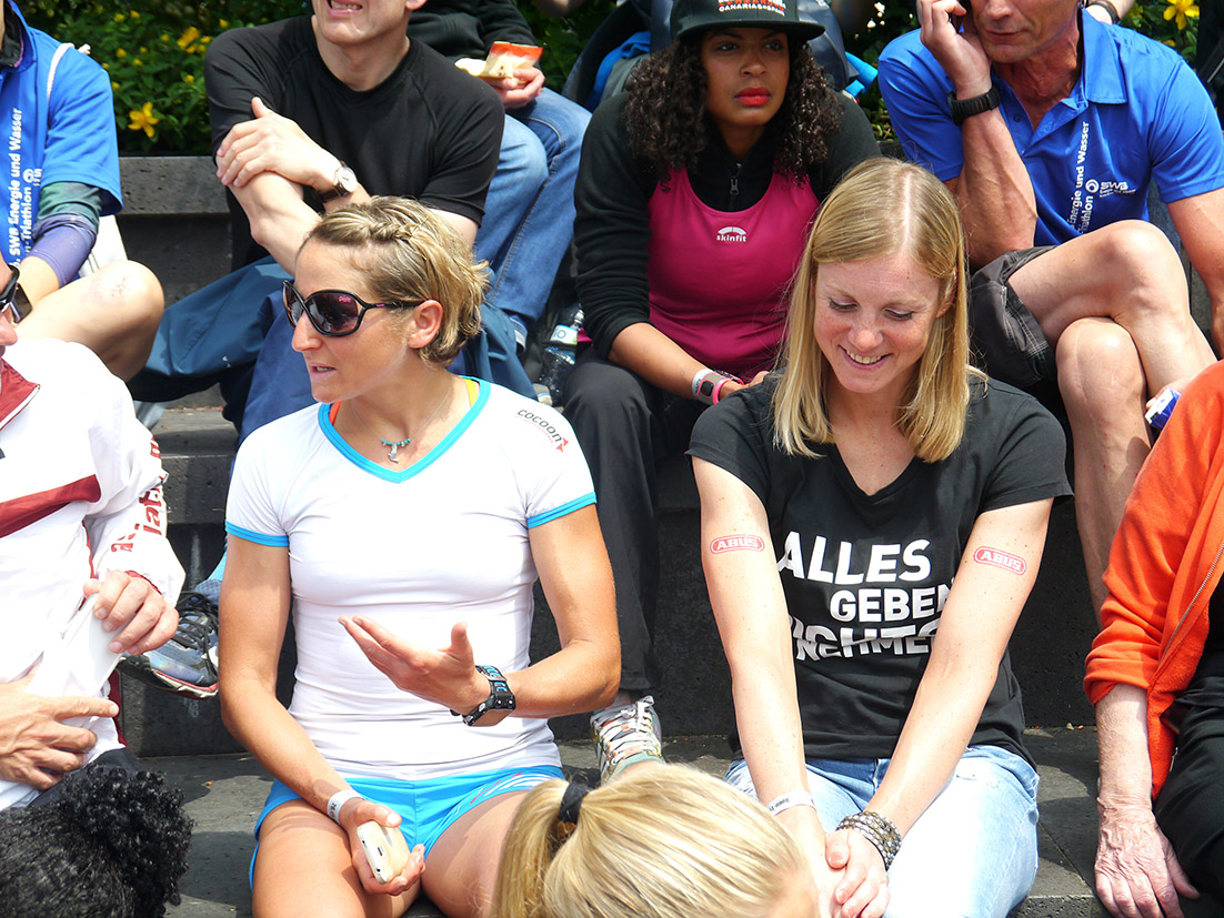 Vor Der Siegerehrung Beim Bonn Tri(Du)athlon 2016
