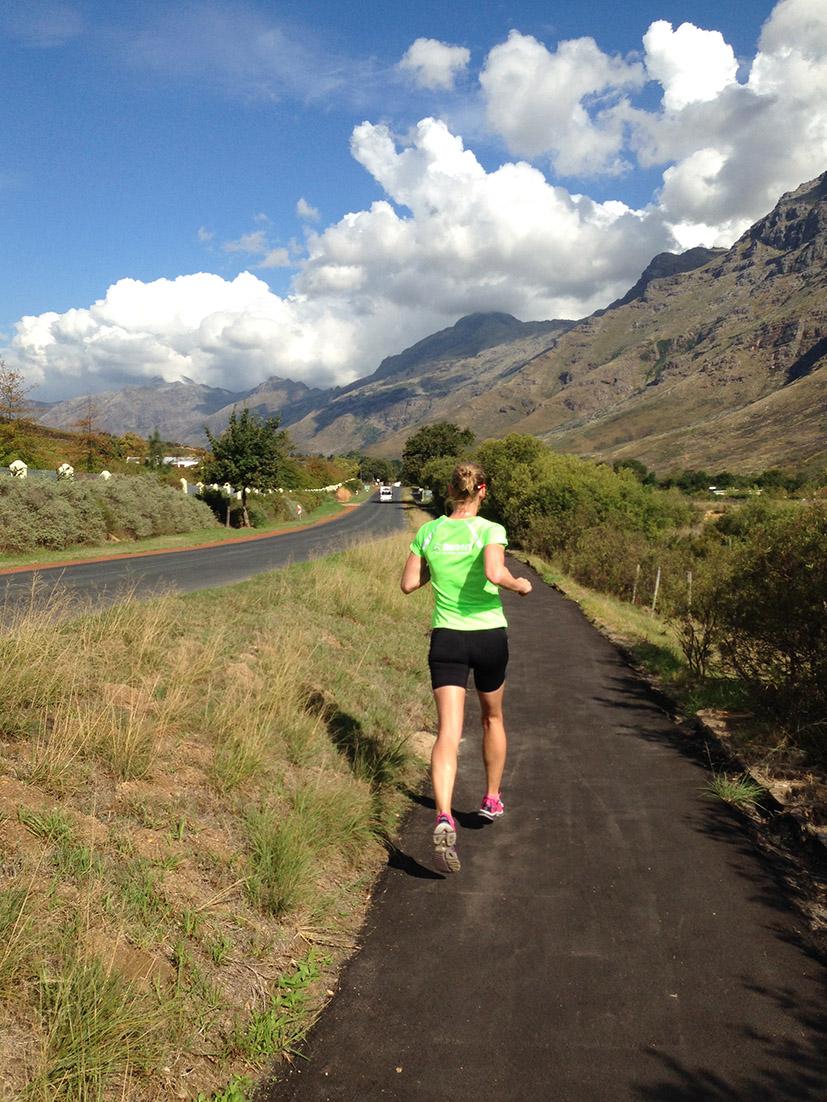 IRONMAN Südafrika 2016 - Wettkampfvorbereitung In Stellenbosch