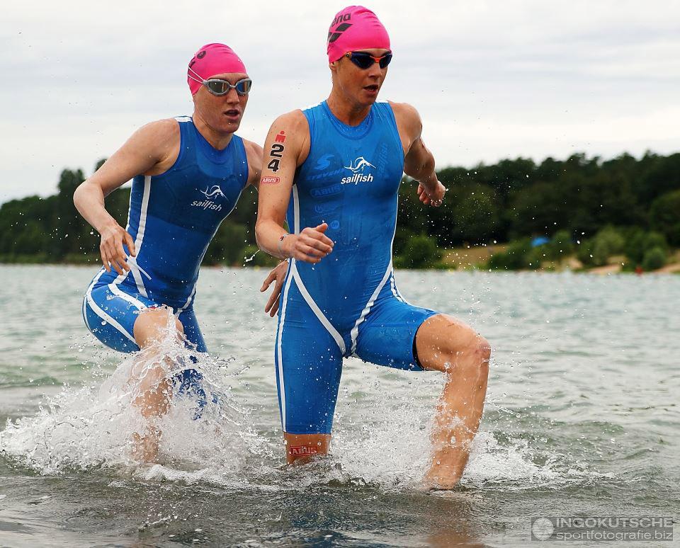 IRONMAN Frankfurt 2016 – Neoprenverbot Beim Schwimmen Für Die PROs – Photo: Ingo Kutsche