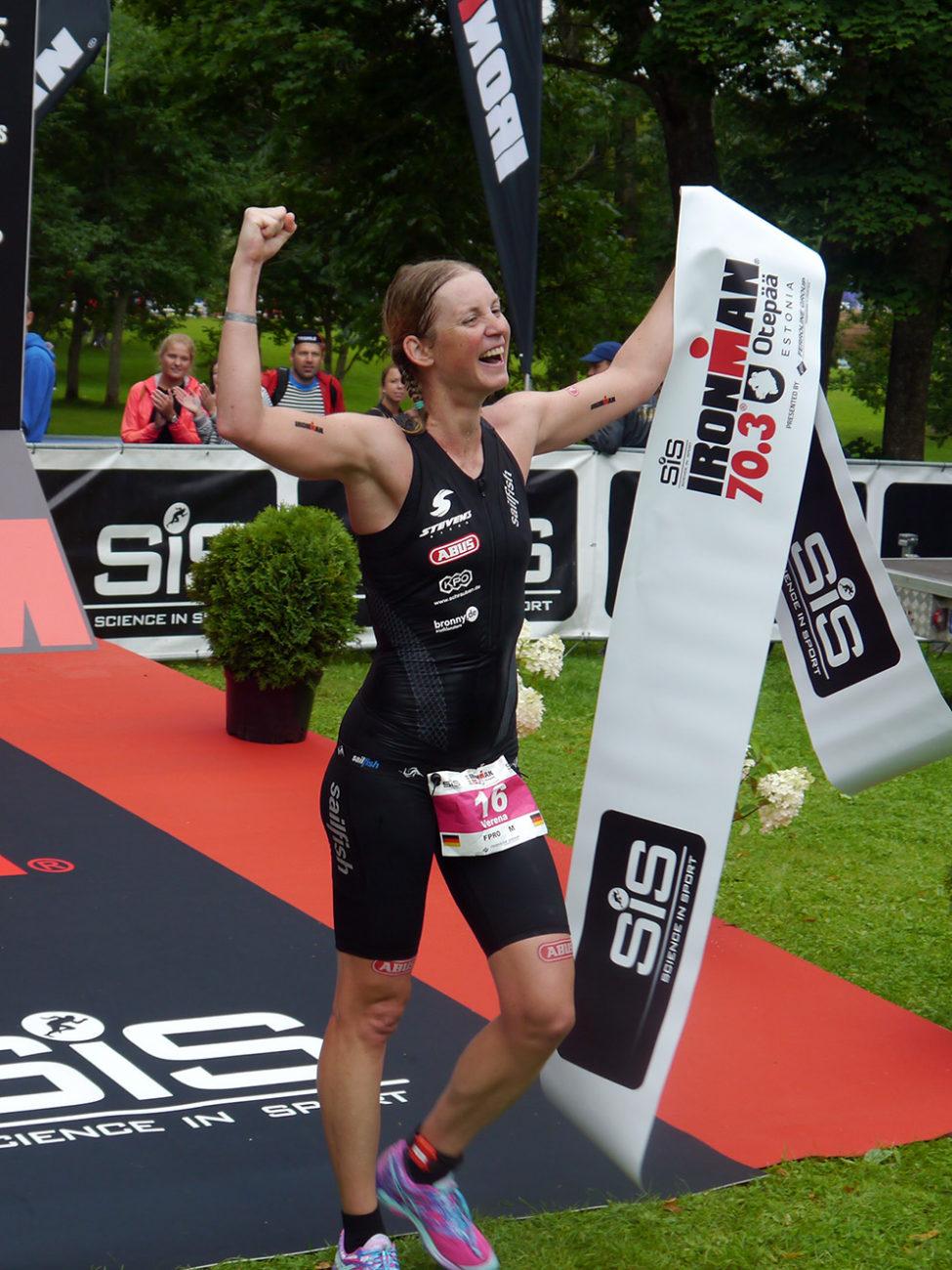 IRONMAN 70.3 Estonia 2016 – Sieg Für Verena Walter