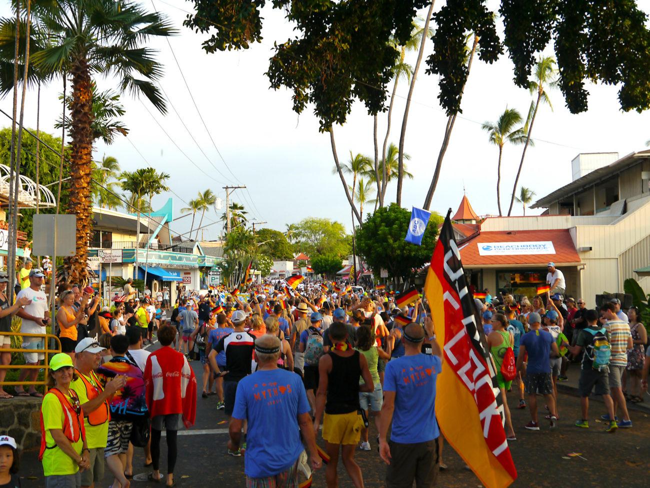 IRONMAN Hawaii 2016 – Nationenparade