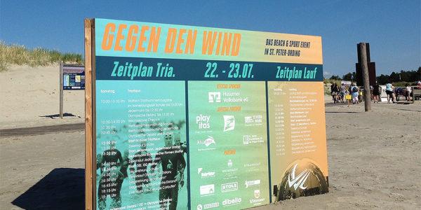 """""""Gegen Den Wind"""" Triathlon In St. Peter Ording – Platz 2 Und Ein Schmerzender Fuß"""