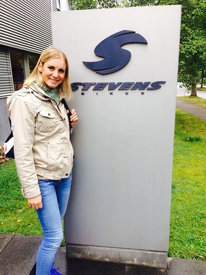 IRONMAN Hamburg 2017 – Besuch Bei Meinem Sponsor STEVENS