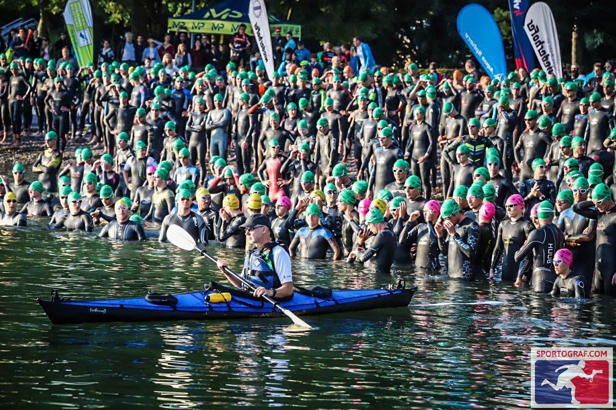 Trans Vorarlberg Triathlon – Schwimmstart In Bregenz