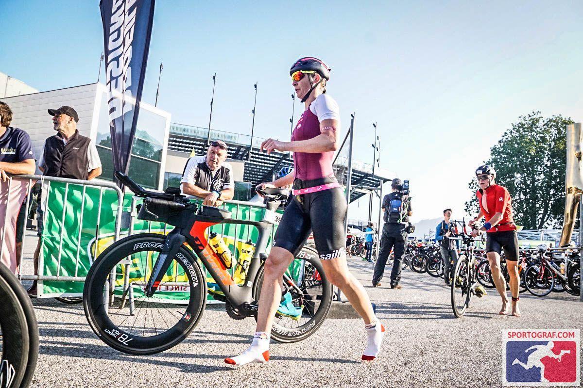 Trans Vorarlberg Triathlon – Wechsel Schwimmen/Rad
