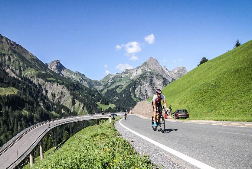 Trans Vorarlberg Triathlon – Traumhafte Radstrecke Mit über 2000 Hm