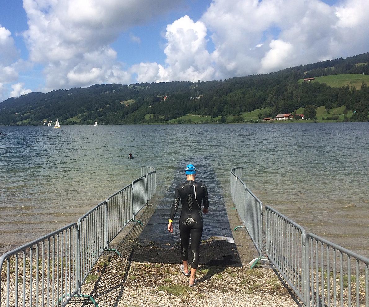 Allgäu-Triathlon 2019 – Schwimmtraining Im Alpsee