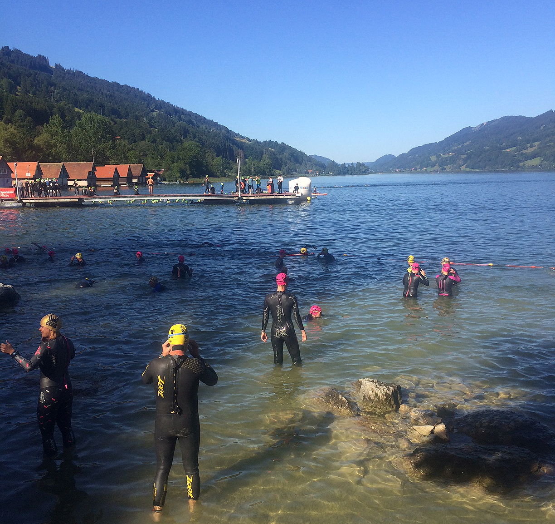 Allgäu-Triathlon 2019 – Kurz Vor Dem Start
