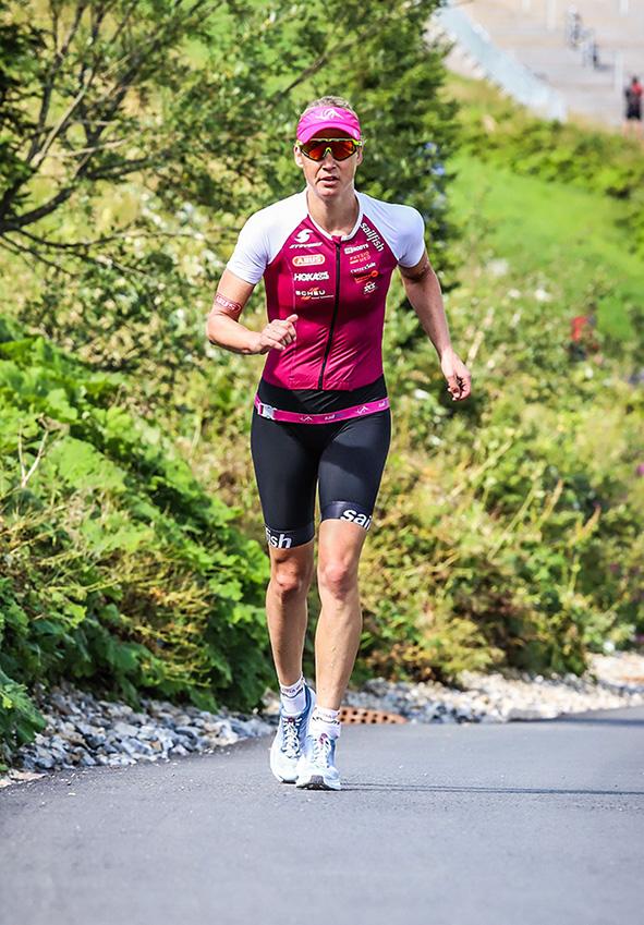 Trans Vorarlberg Triathlon – Auf Der Profilierten Laufstrecke In Lech