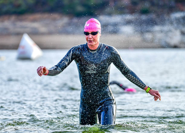CHALLENGE Madrid 2019 – Nach Den 3800 M Schwimmen Im San Juan Reservoir
