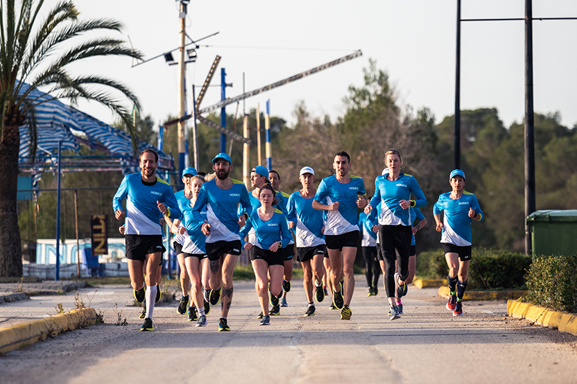 Teammeeting Hoka One One, Mallorca