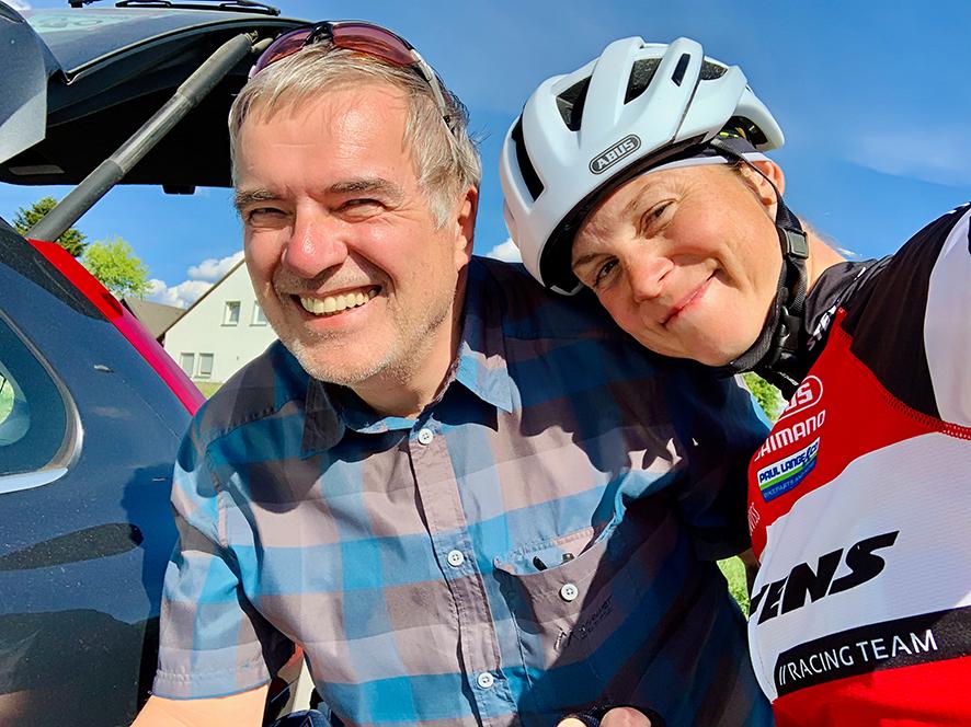 Sauerlandumrundung Mit Dem TT-Bike – Mit Dem Besten Supporter Der Welt!