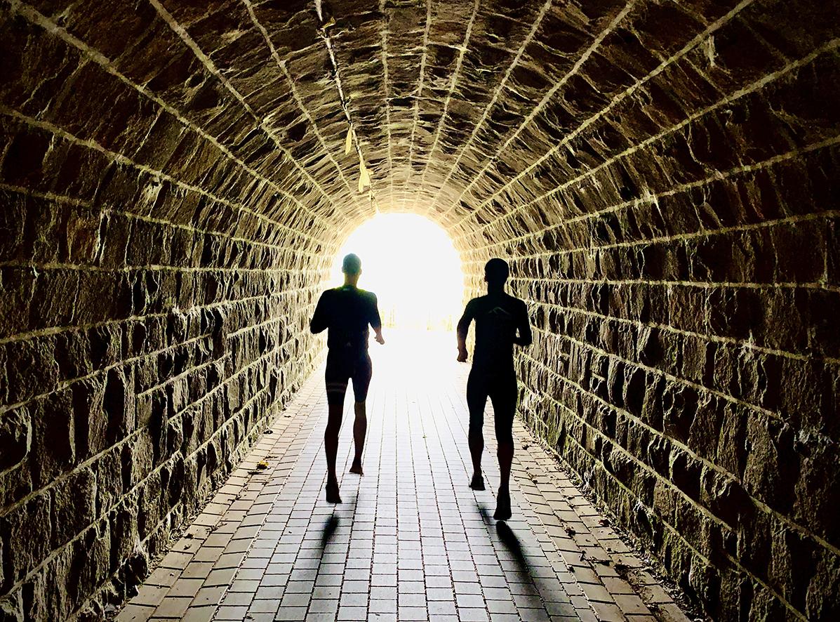 Laufabenteuer Ruhrtalradweg – Licht Am Ende Des Tunnels Bei Wetter-Wengern
