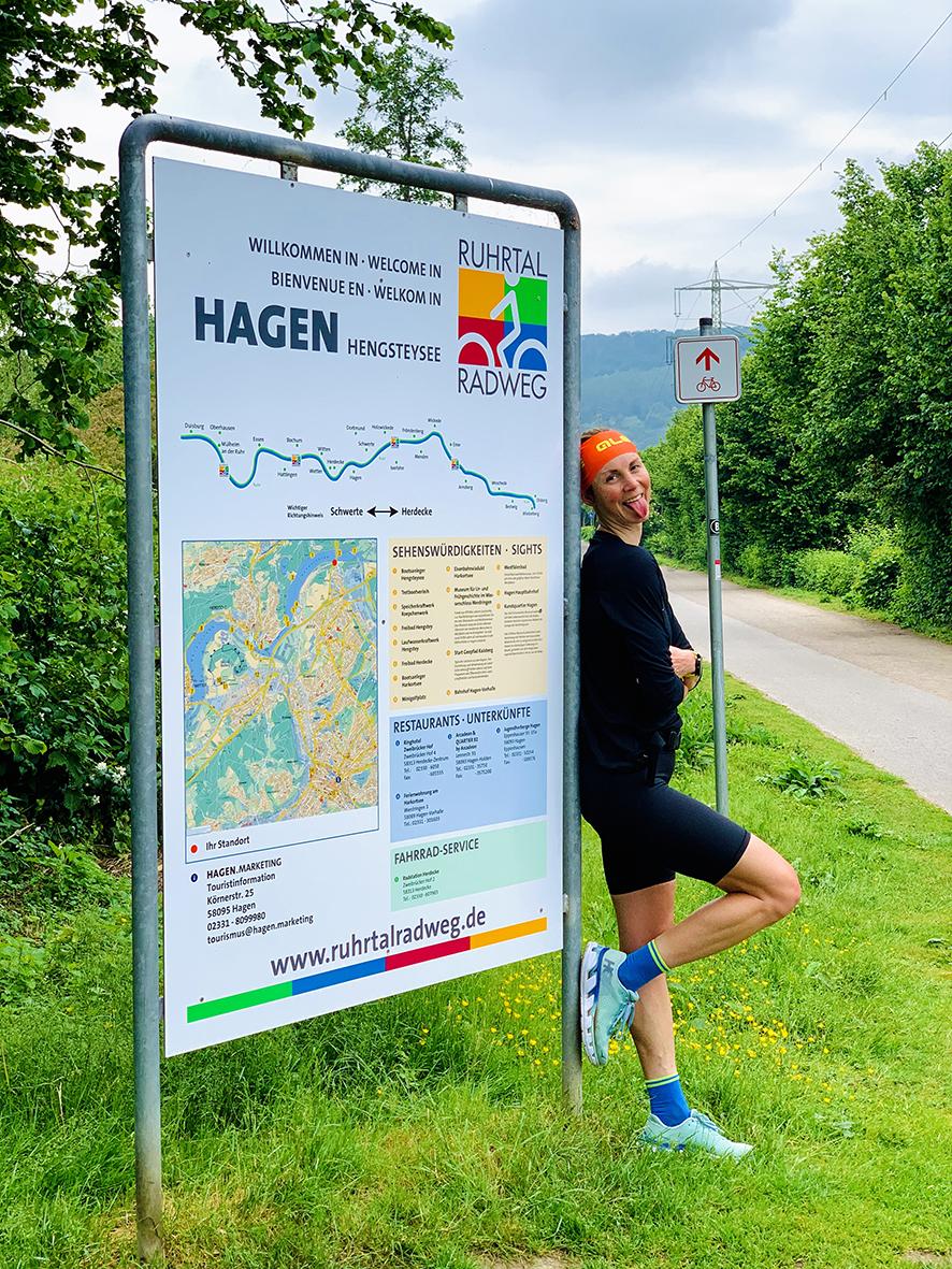 Laufabenteuer Ruhrtalradweg – Tagesziel Erreicht!