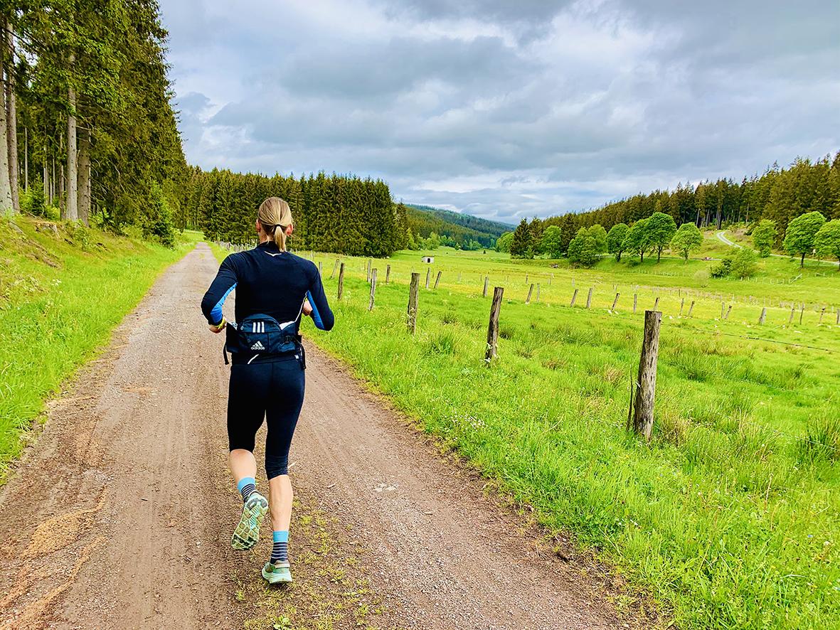 Laufabenteuer Ruhrtalradweg – Die Ersten Kilometer Geht Es Nur Bergab