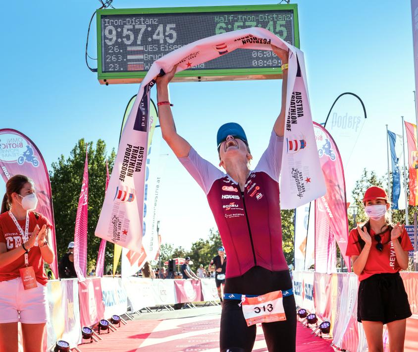 Austria-Triathlon Podersdorf – Sieg über Die Langdistanz Mit Neuem Streckenrekord