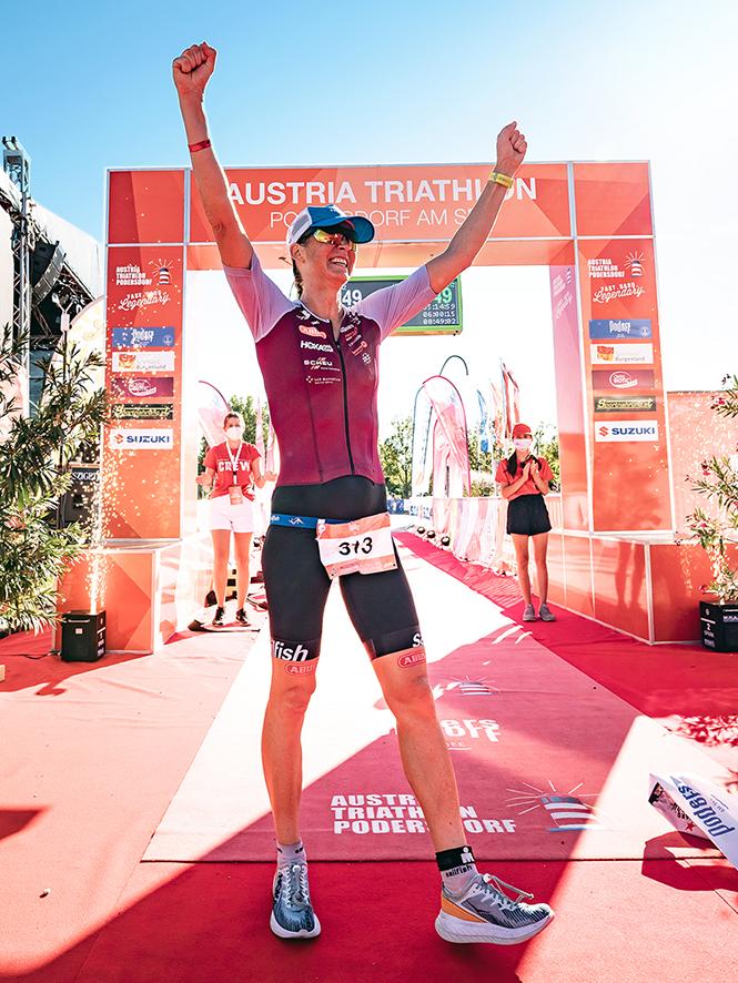Austria-Triathlon Podersdorf – Sieg über Die Langdistanz Mit Neuem Streckenrekord / Copyright: Austria Triathlon - Nino Jonas