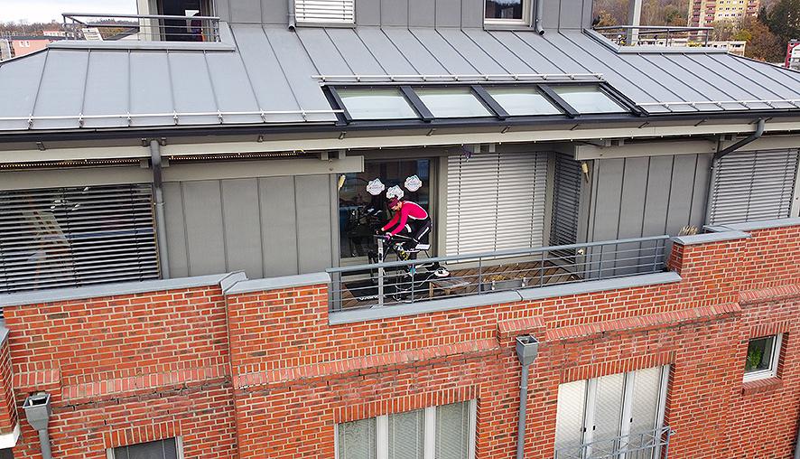 VEveresting Auf Zwift – Frische Luft Auf Dem Balkon