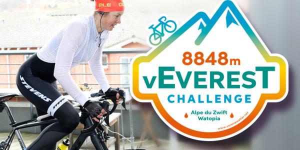 Die VEveresting Challenge – 8848 Hm Am Alpe Du Zwift