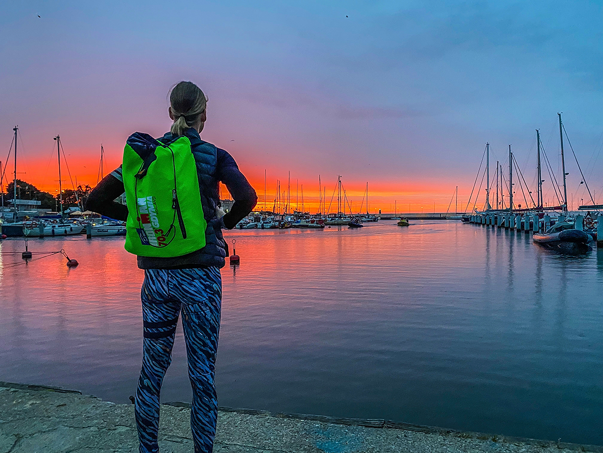 IRONMAN 70.3 Gdynia 2021 – Kurz Vor Dem Frühen Start Um 6:00 Uhr